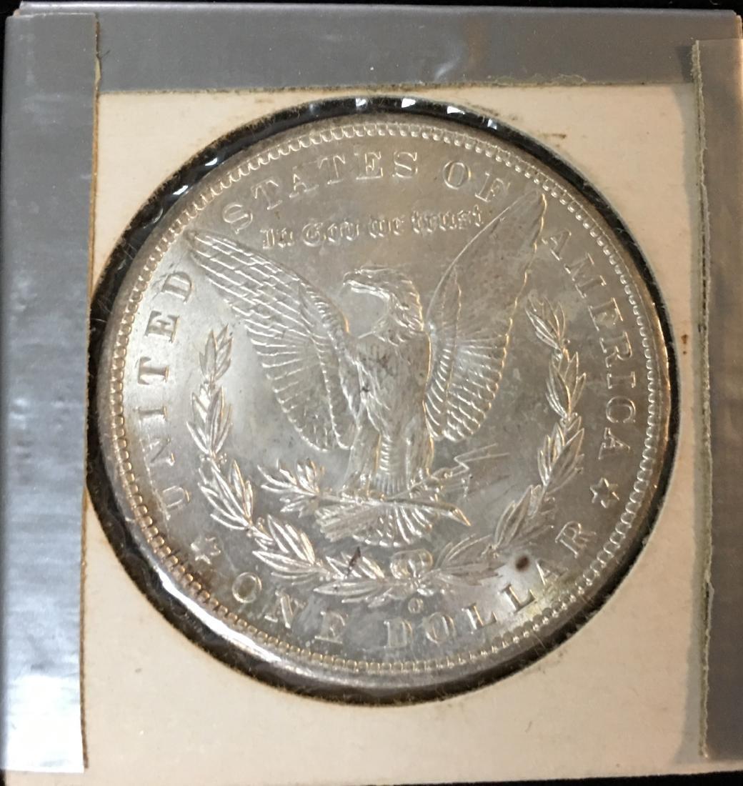 1898-P $1 Morgan Silver Dollar GEM BU - 2