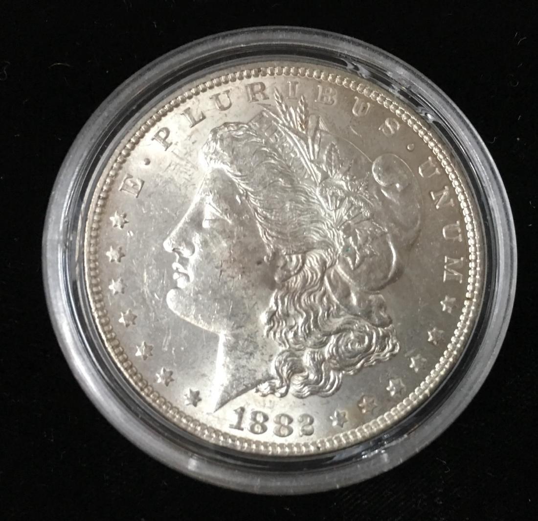 1882-P $1 Morgan Silver Dollar BU