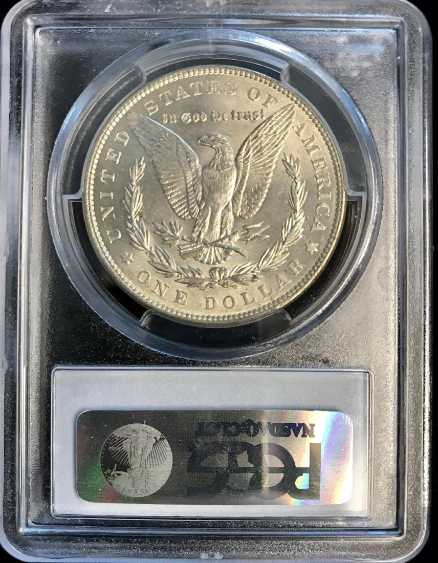 1886-P $1 Morgan Silver Dollar PCGS MS62 - 2