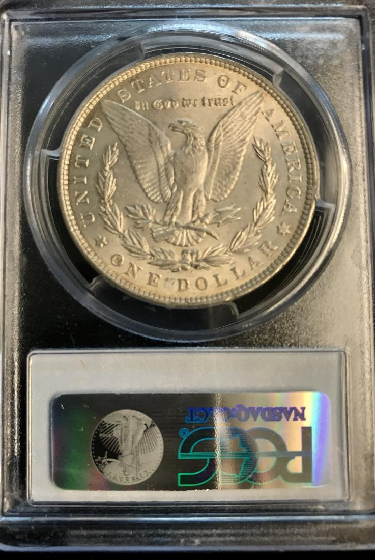 1886-P $1 Morgan Silver Dollar PCGS MS62 - 2