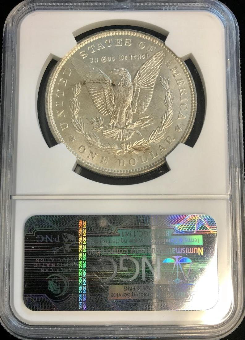1896-P $1 Morgan Silver Dollar NGC MS63 - 2