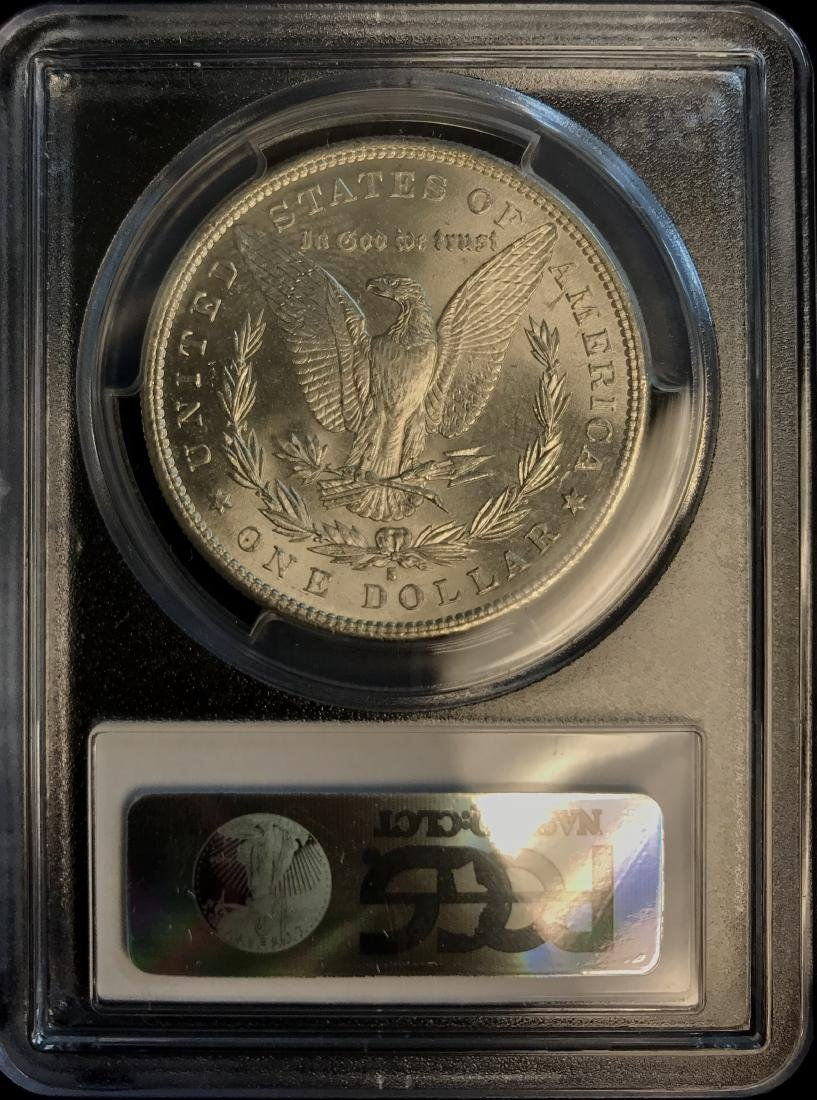 1881-S $1 Morgan Silver Dollar PCGS MS64+ - 2