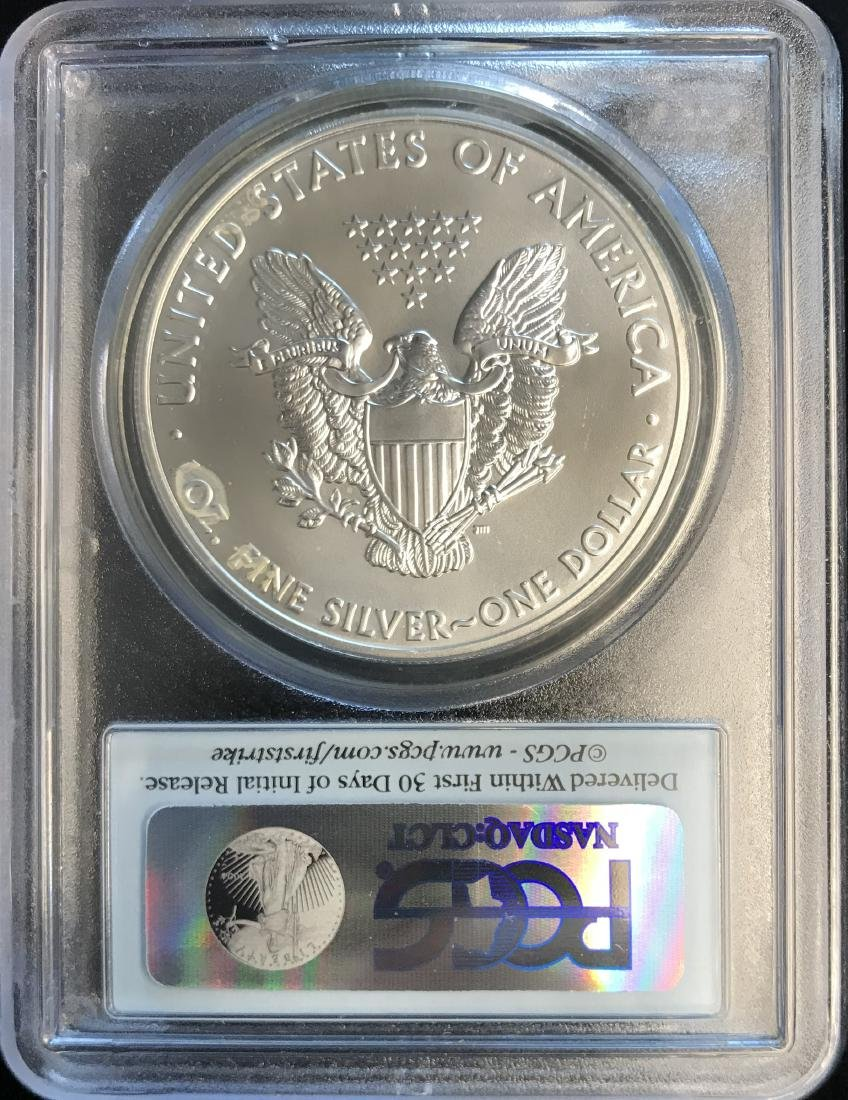 2011 $1 American Silver Eagle First Strike PCGS MS69 - 2