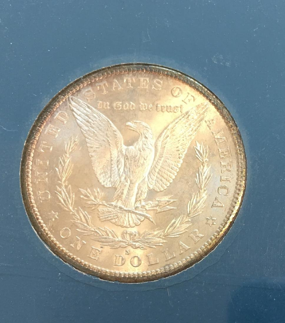 1880-S $1 Silver Morgan Dollar GEM BU - 4