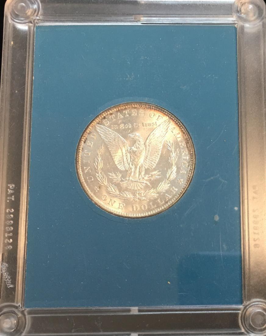 1887-P $1 Silver Morgan Dollar GEM BU - 2