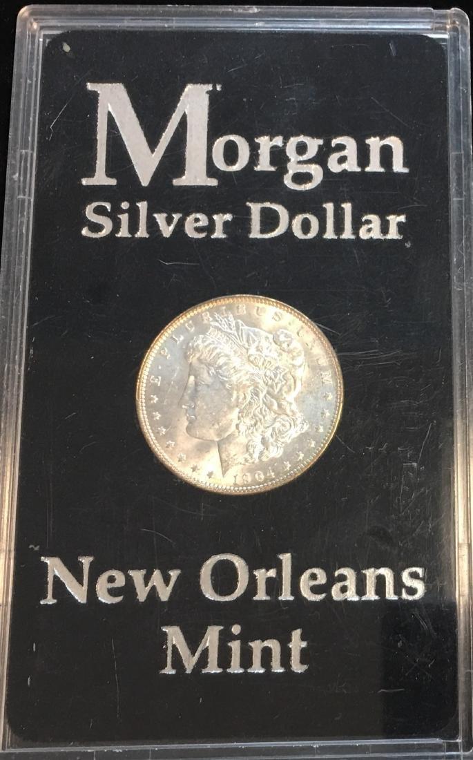1904-O $1 Silver Morgan Dollar PBU