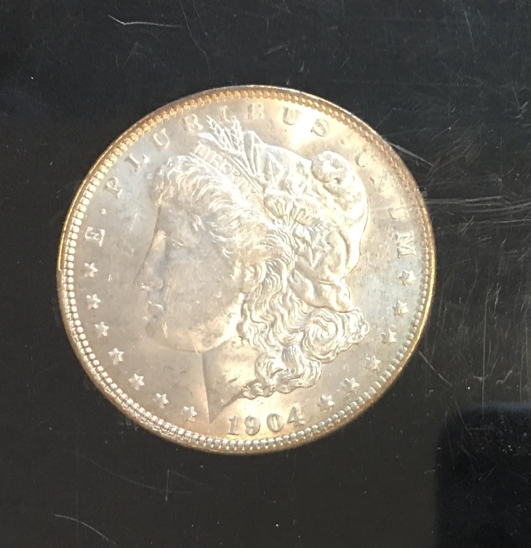 1904-O $1 Silver Morgan Dollar PBU - 3