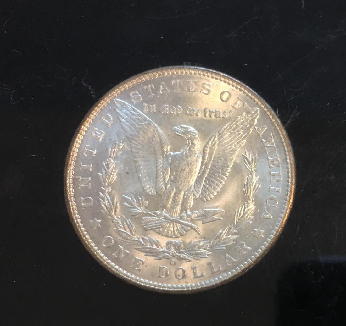 1904-O $1 Silver Morgan Dollar PBU - 4