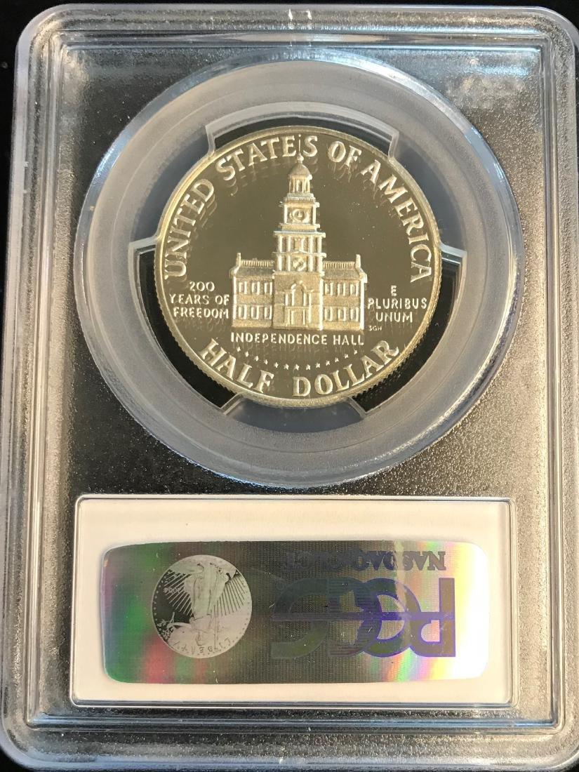 1976-S 50C Silver Kennedy Half Dollar PCGS PR69 DCAM - 2