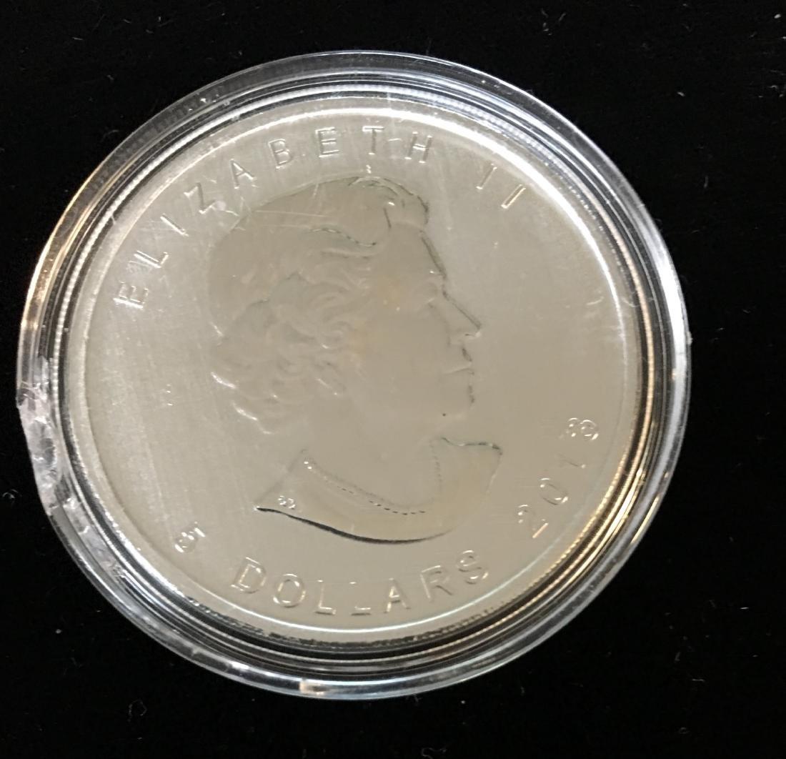 2013 $5 Canada WildLife Antelope 1 oz Fine Silver