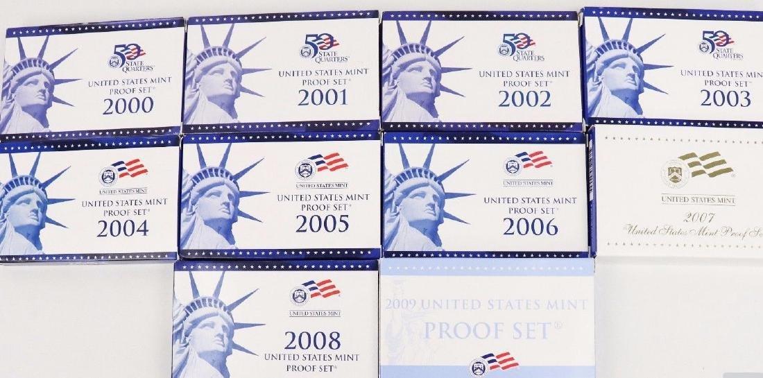 2000's Proof Sets