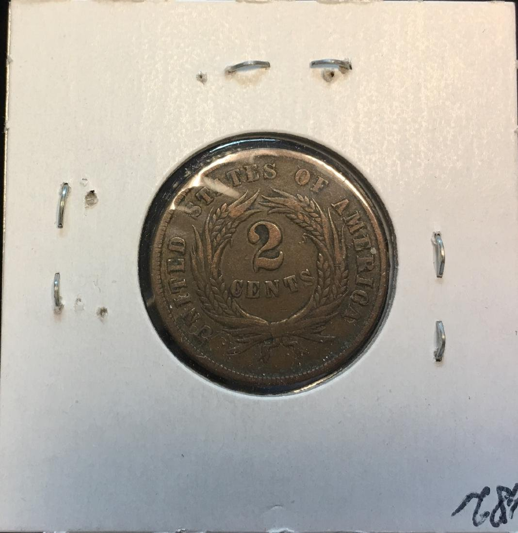1865 2C Two Cent Piece - 2