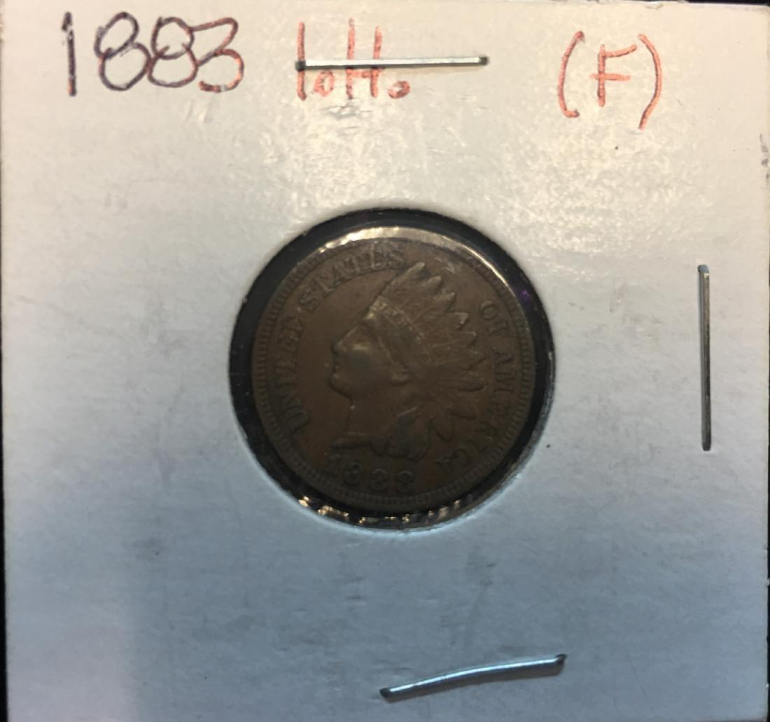 1883 1C Indian Head CentXF