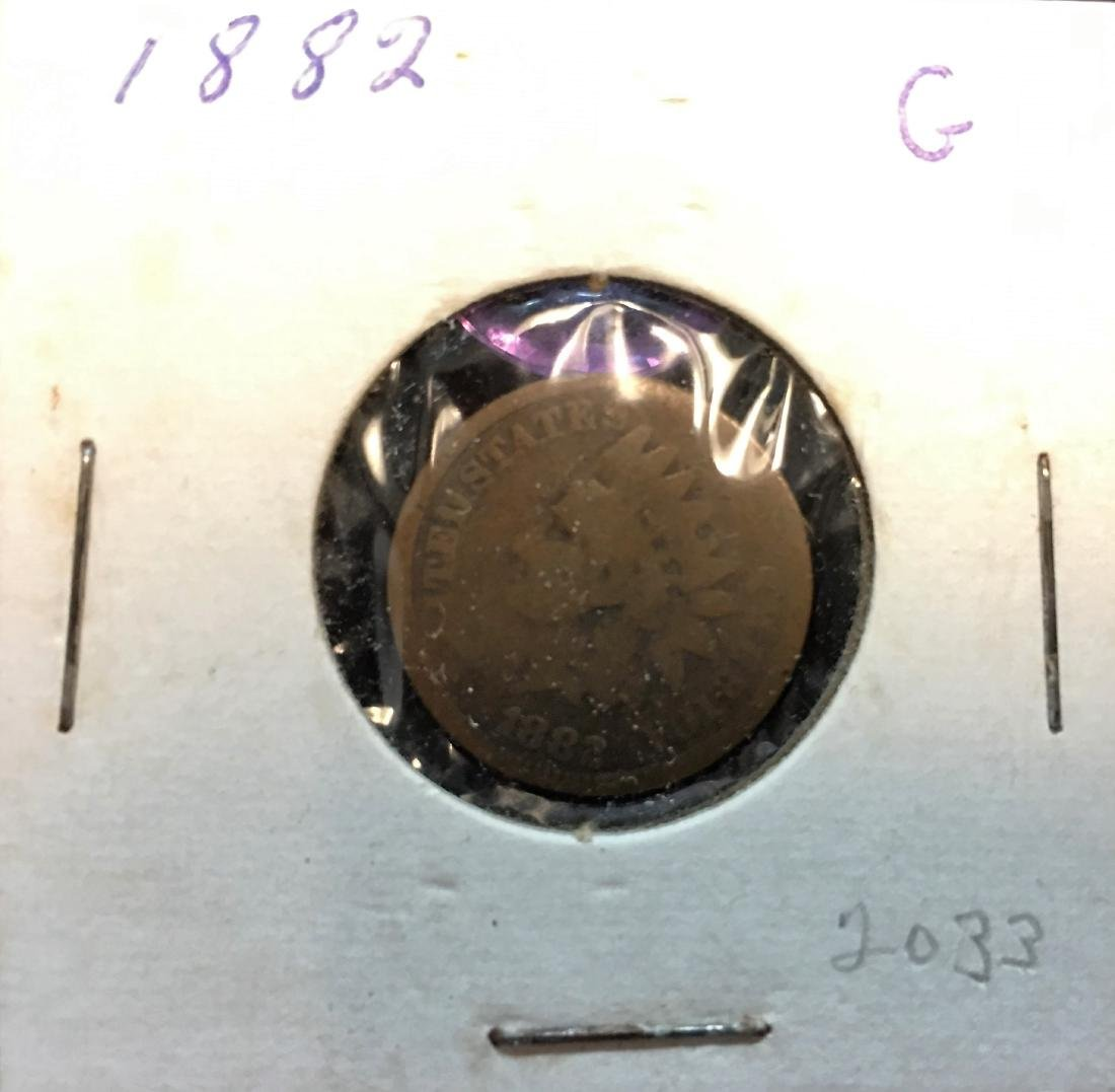 1882 1C Indian Head Cent