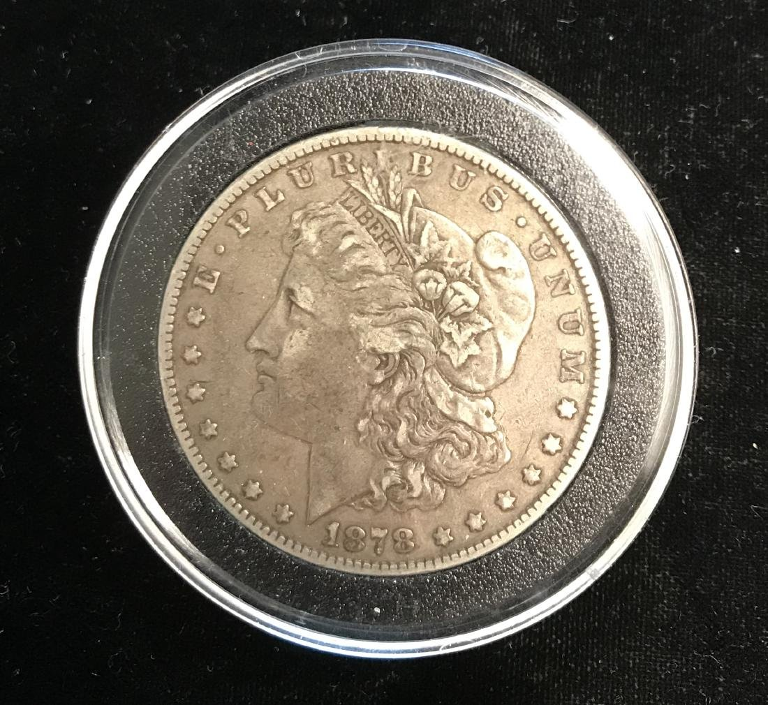 1878-P $1 Morgan Silver Dollar