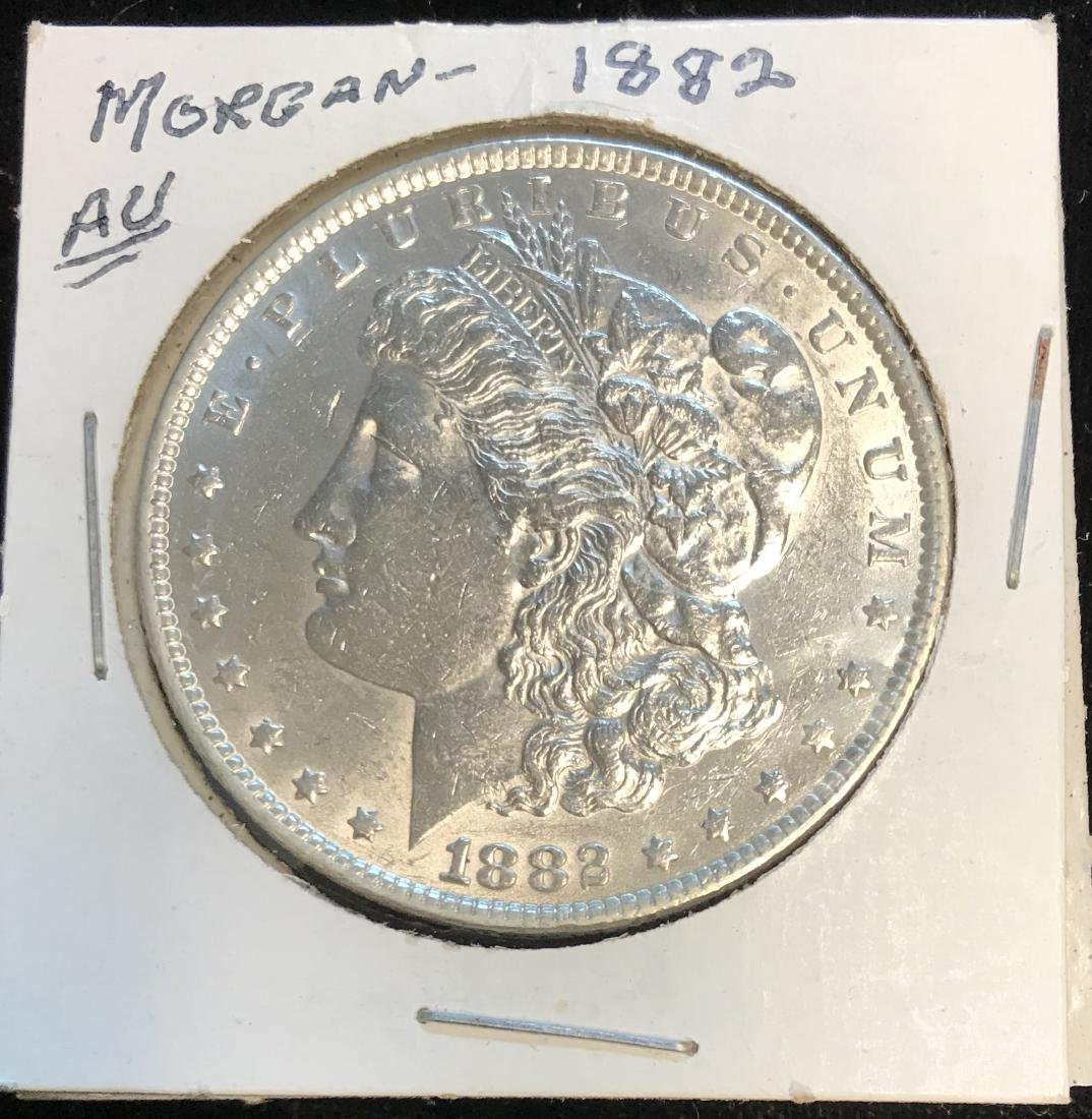 1882-P $1 Morgan Silver Dollar