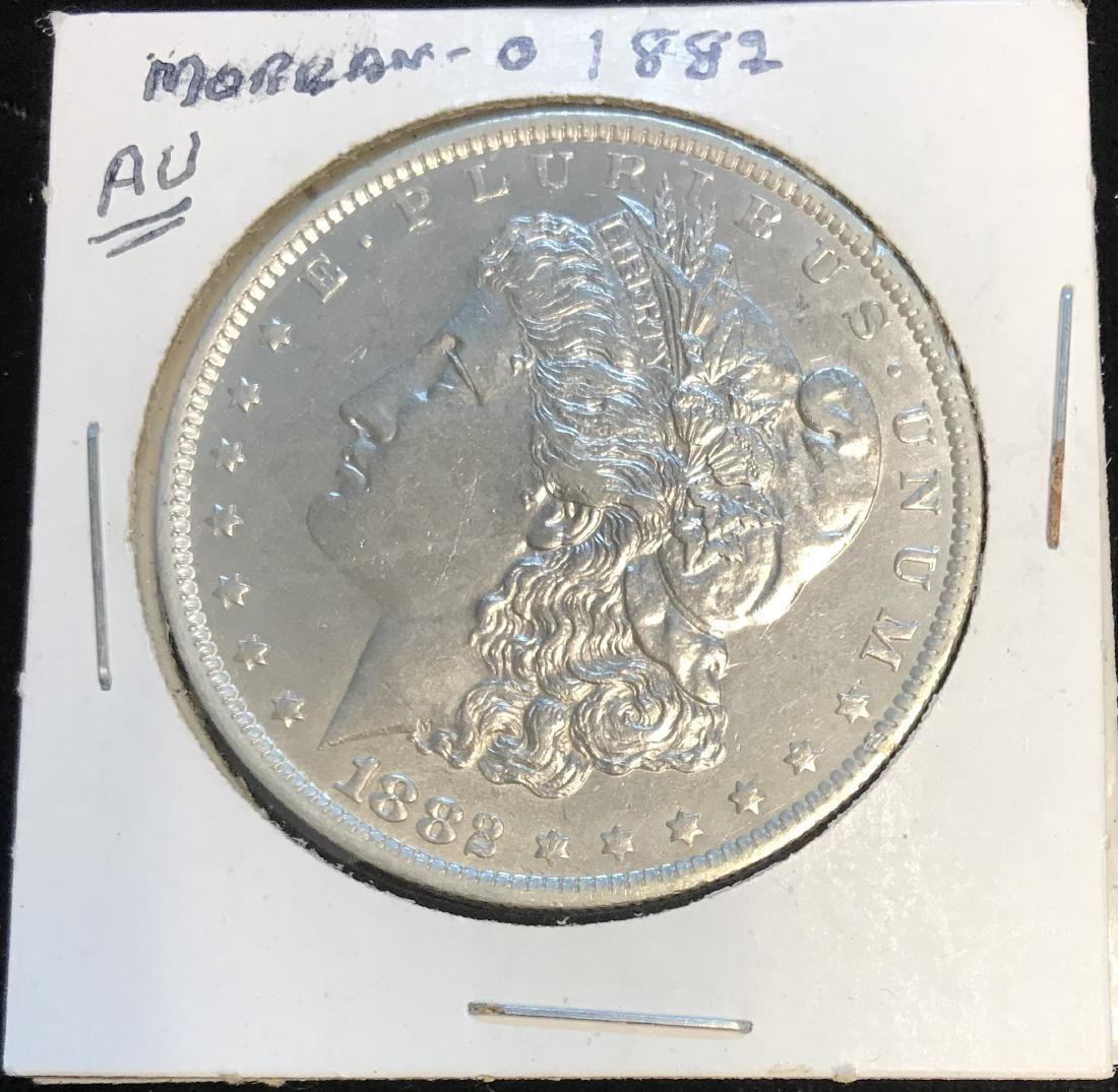 1882-O $1 Morgan Silver Dollar
