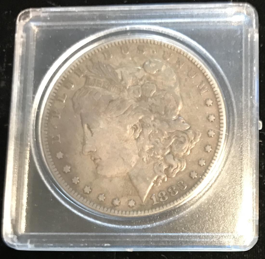 1883-P $1 Morgan Silver Dollar