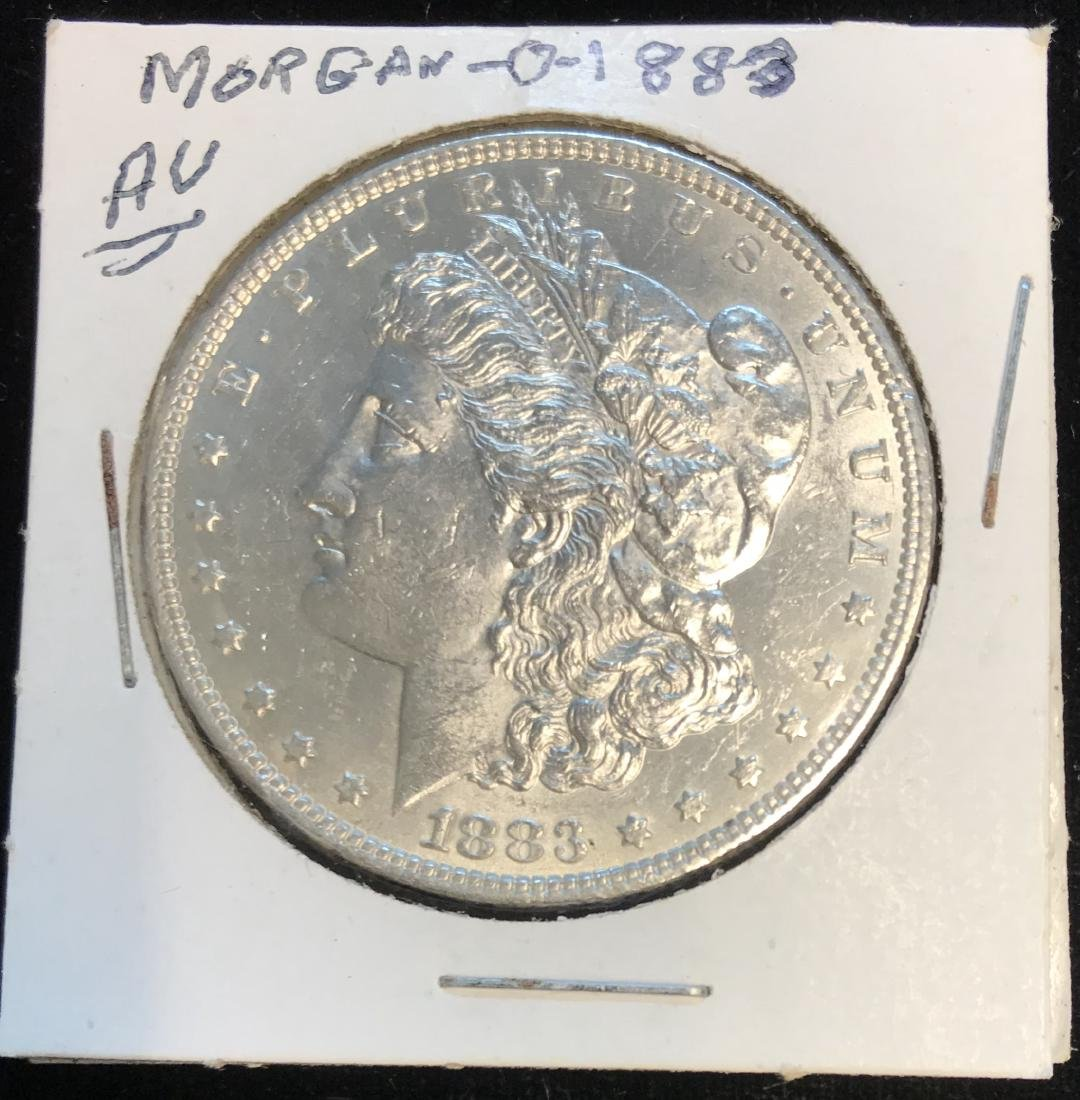 1883-P $1 Morgan Silver Dollar