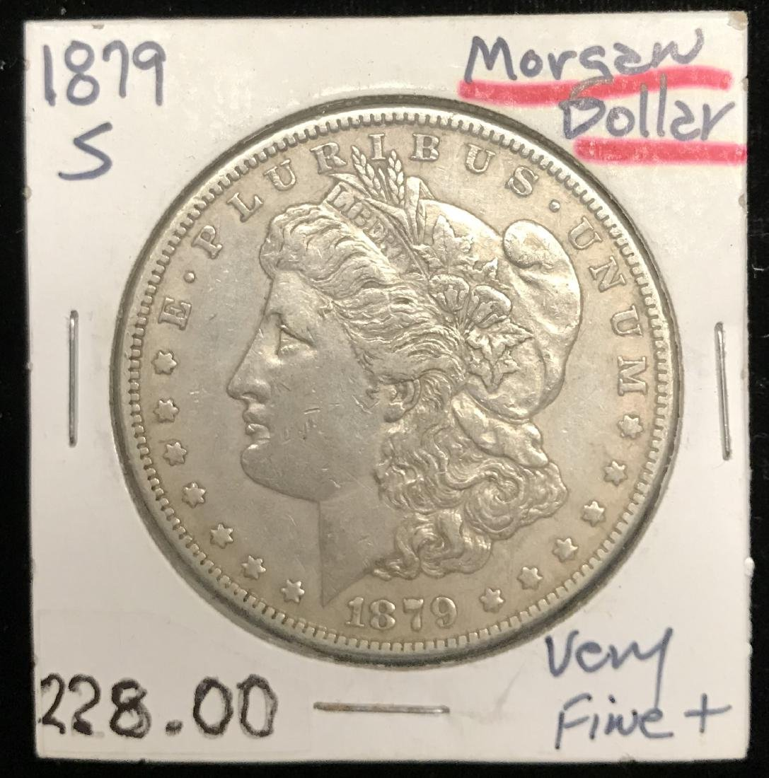 1879-S $1 Morgan Silver Dollar
