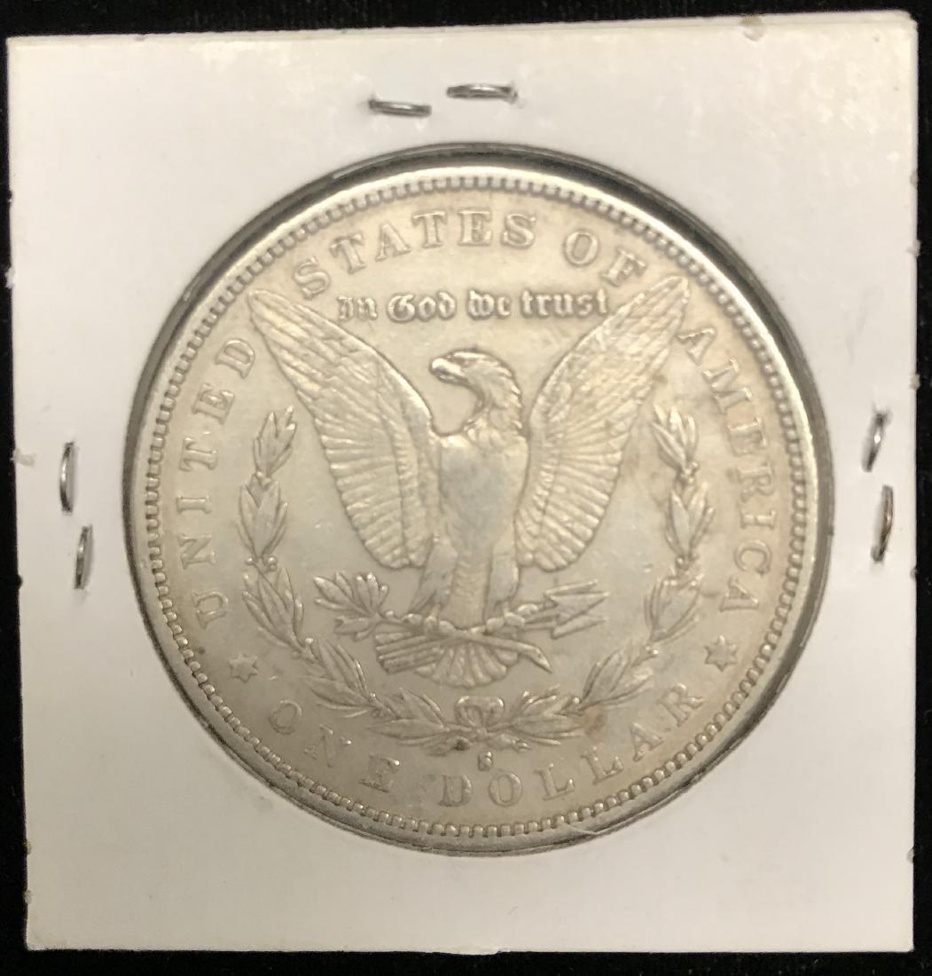 1879-S $1 Morgan Silver Dollar - 2