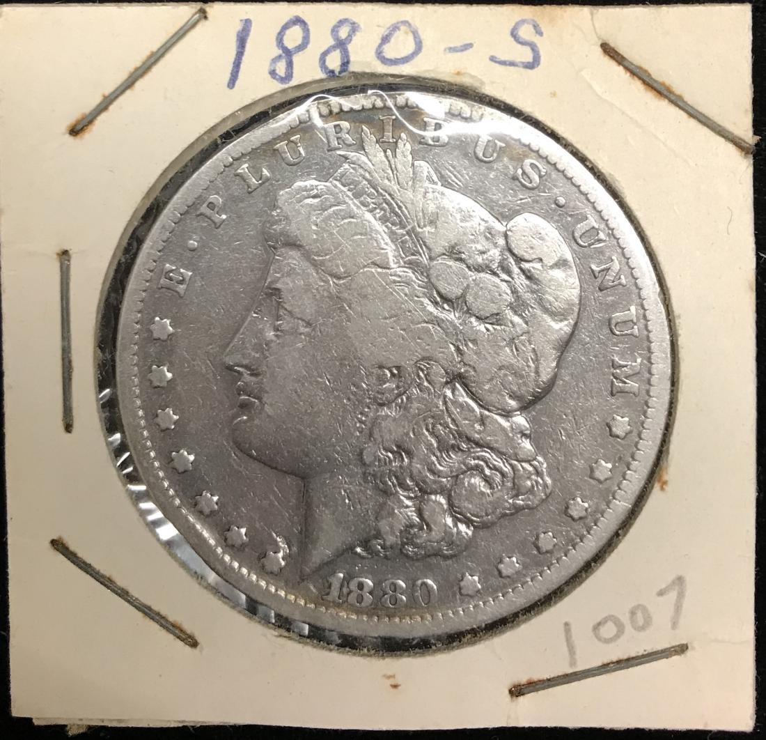 1880-S $1 Morgan Silver Dollar