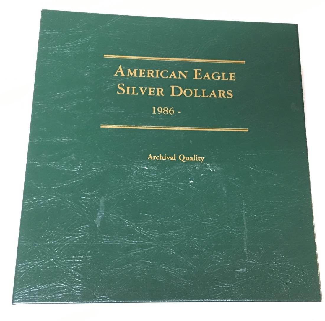 American Eagle Silver Dollars 1986-2009 Archival