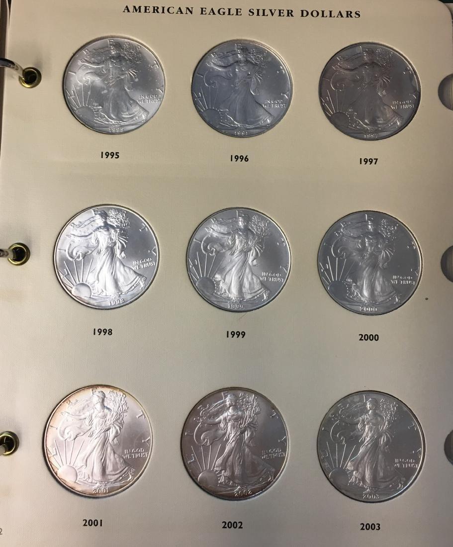 American Eagle Silver Dollars 1986-2009 Archival - 3
