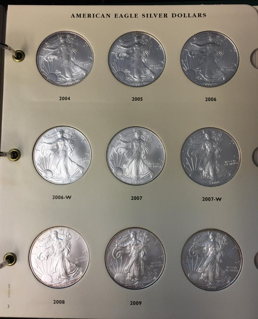 American Eagle Silver Dollars 1986-2009 Archival - 4