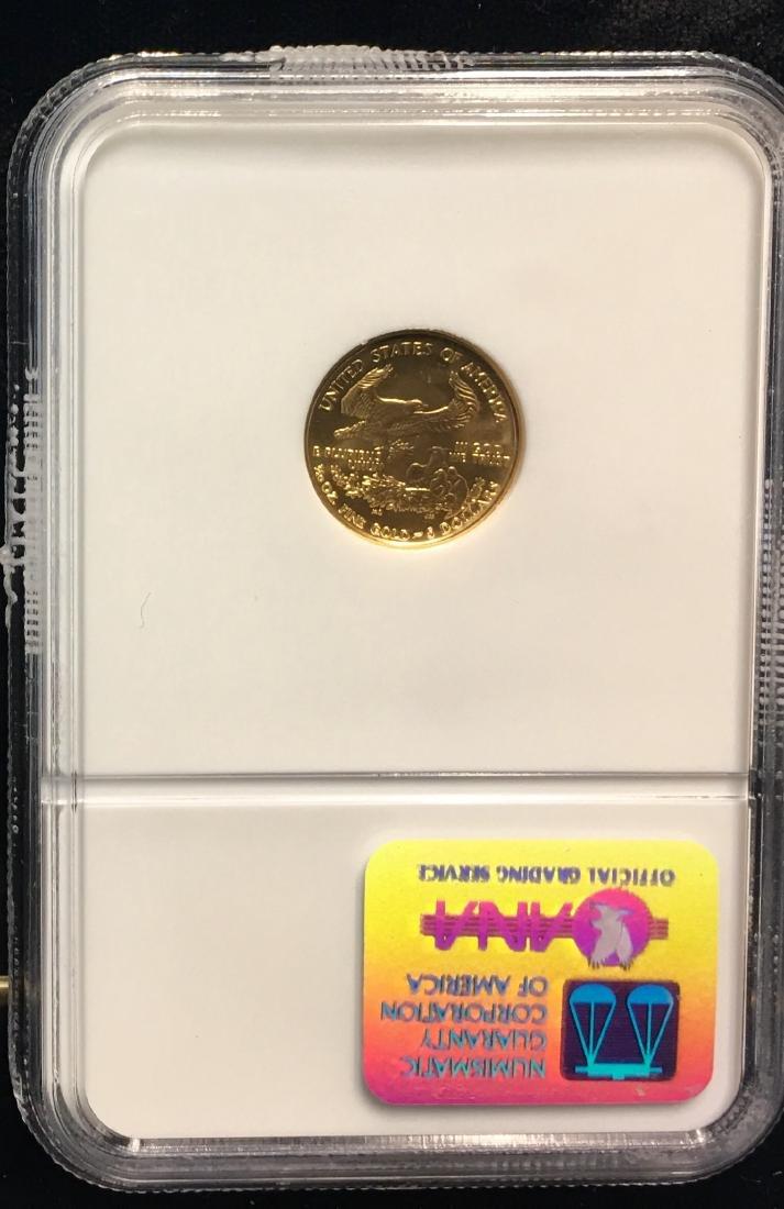 2000 $5 American Gold Eagle 1/10 oz NGC MS68 - 2