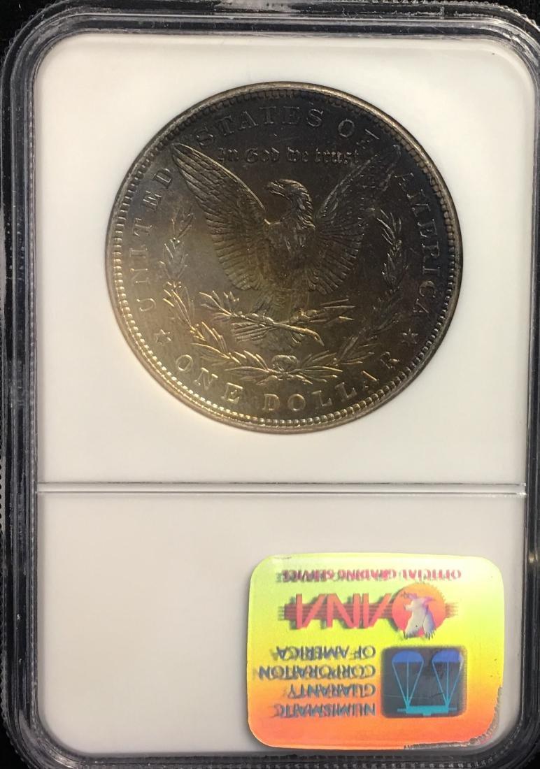1887 $1 Morgan Silver Dollar Binion Collection NGC MS64 - 2