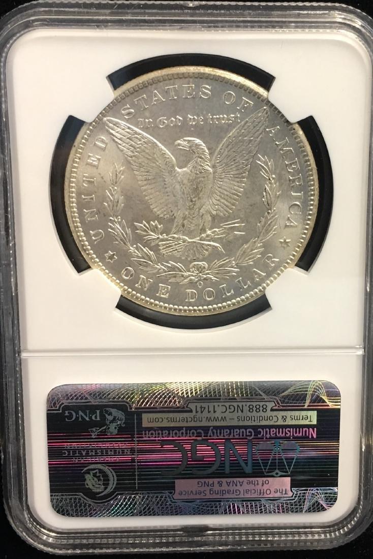 1898-O $1 Morgan Silver Dollar NGC MS63 - 2