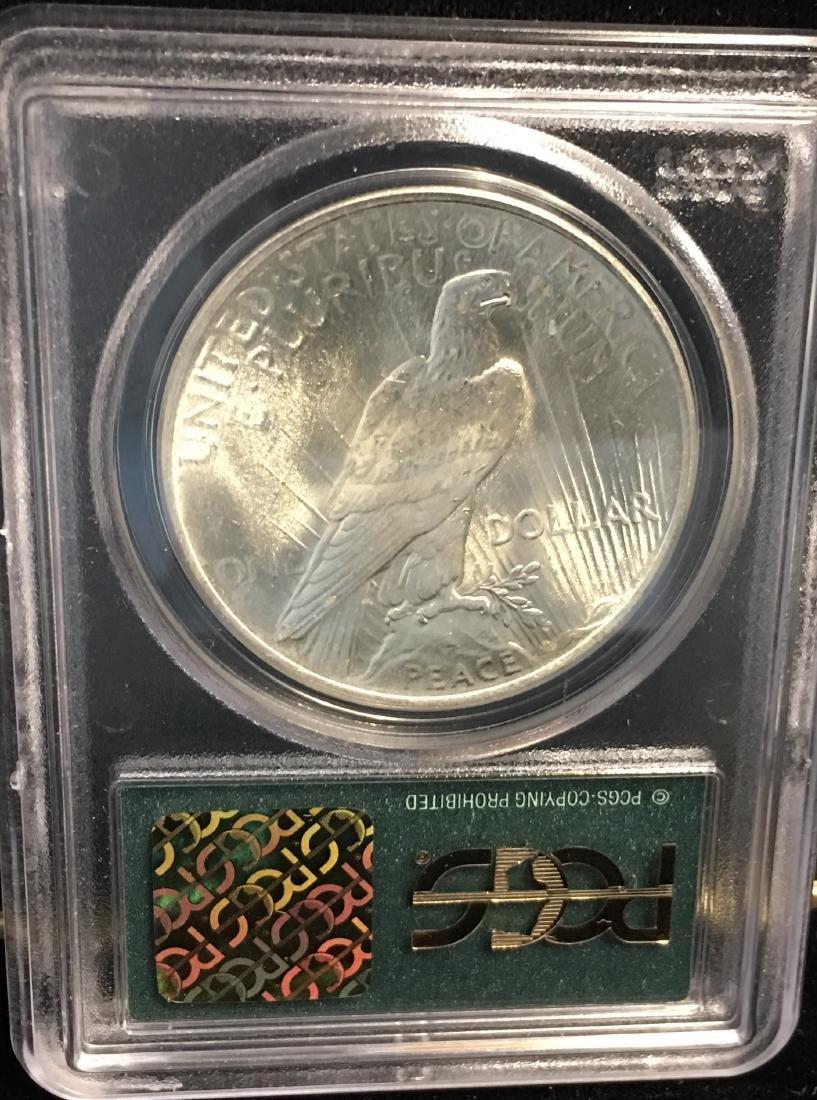 1922-P $1 Peace Silver Dollar PCGS MS64 - 2