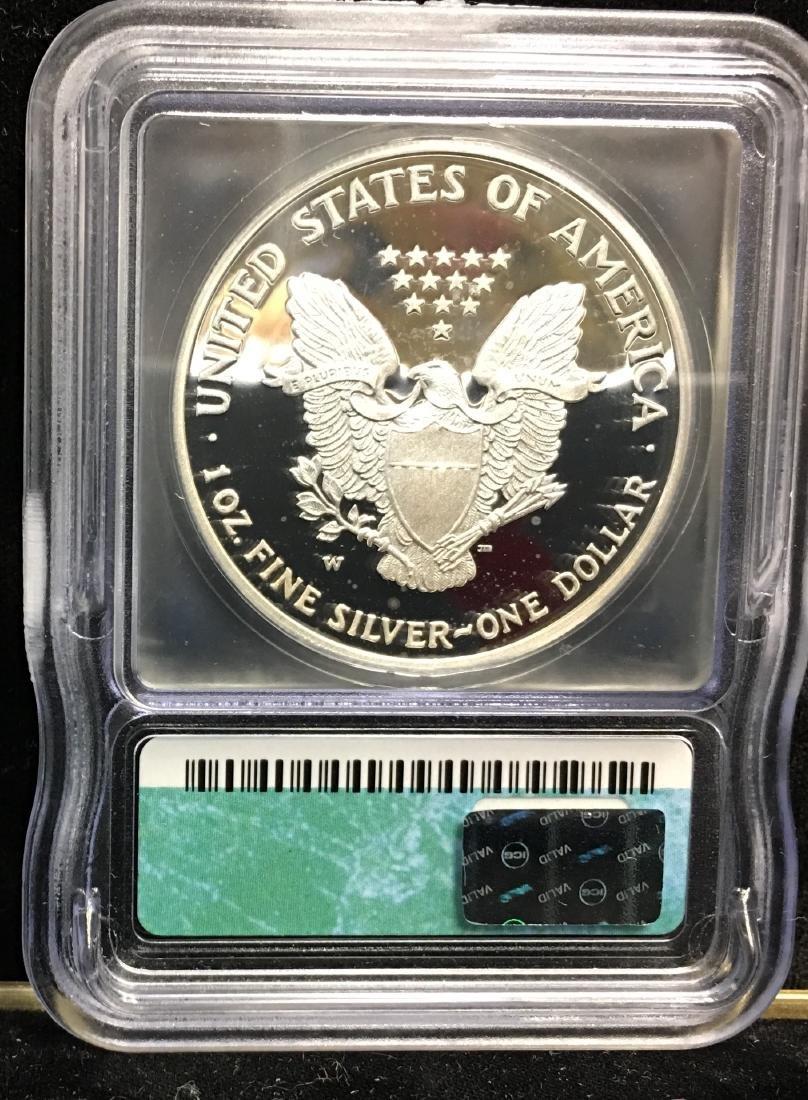 2007-W $1 American Silver Eagle ICG PR69 DCAM - 2