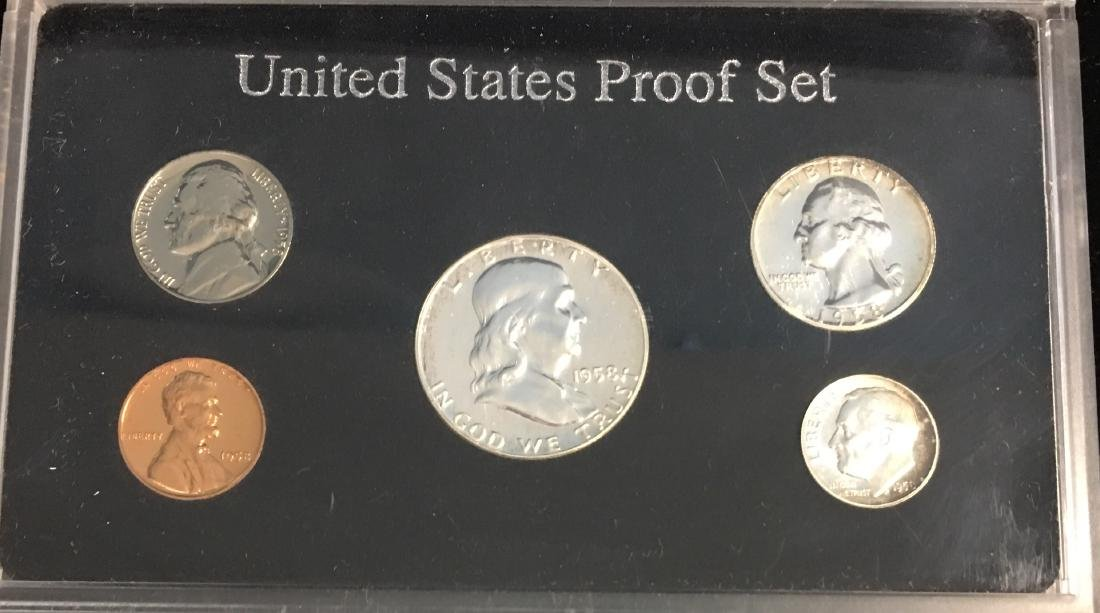 1958 U.S. Proof Set