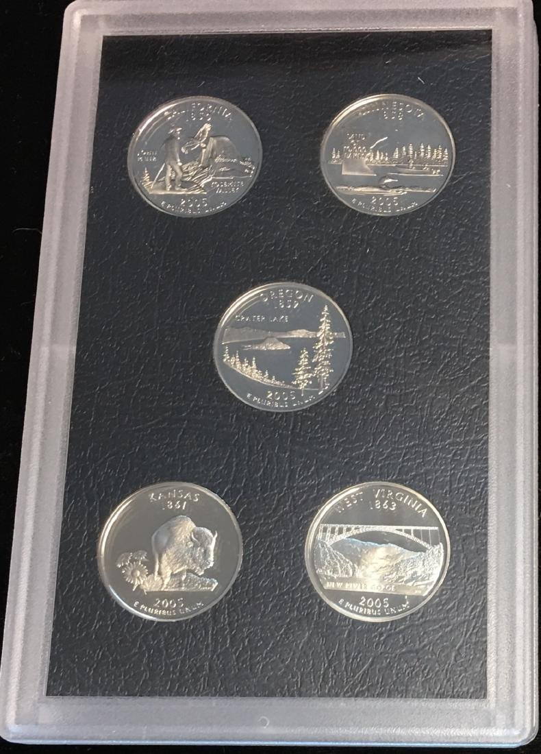 2005-S Washington Quarters State Proof Set