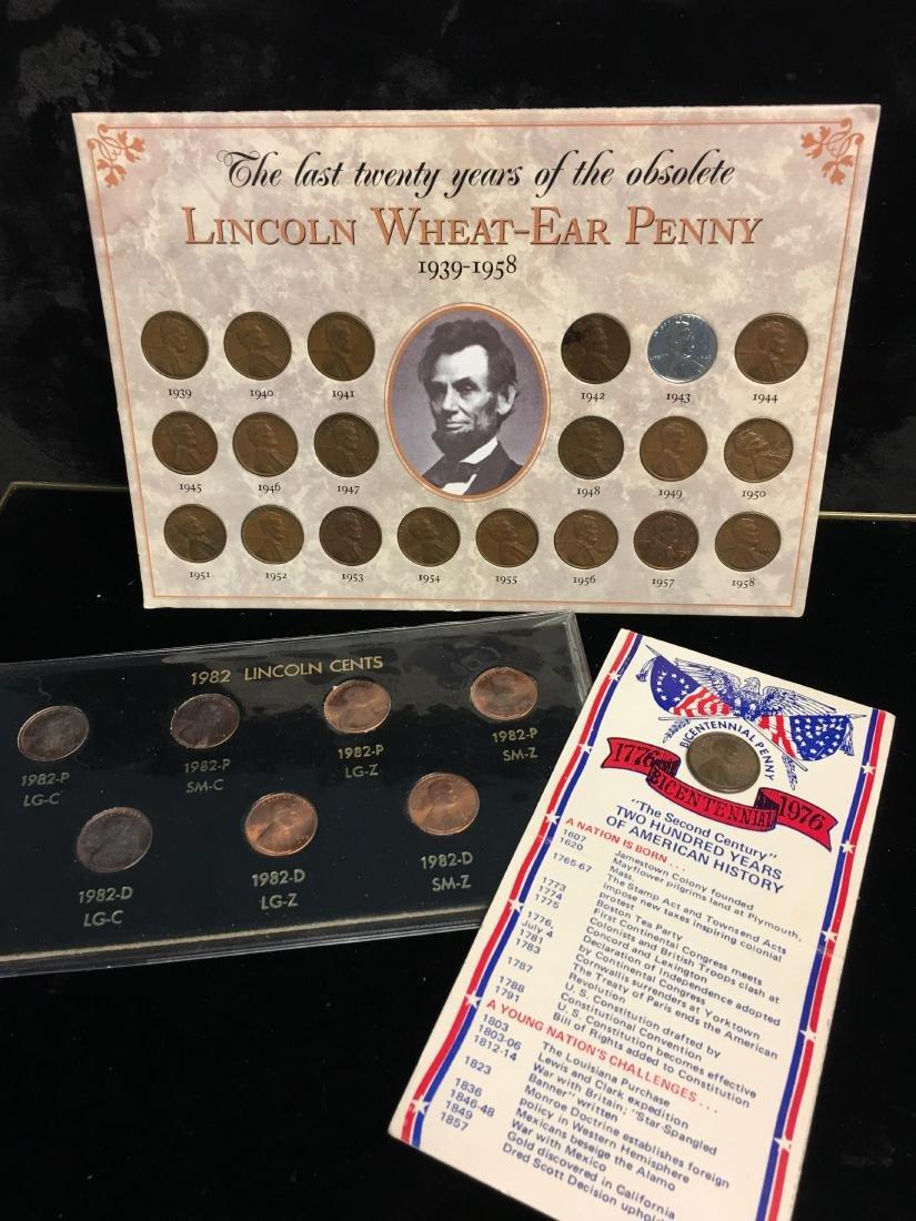 Set of 3 Lincoln Sets