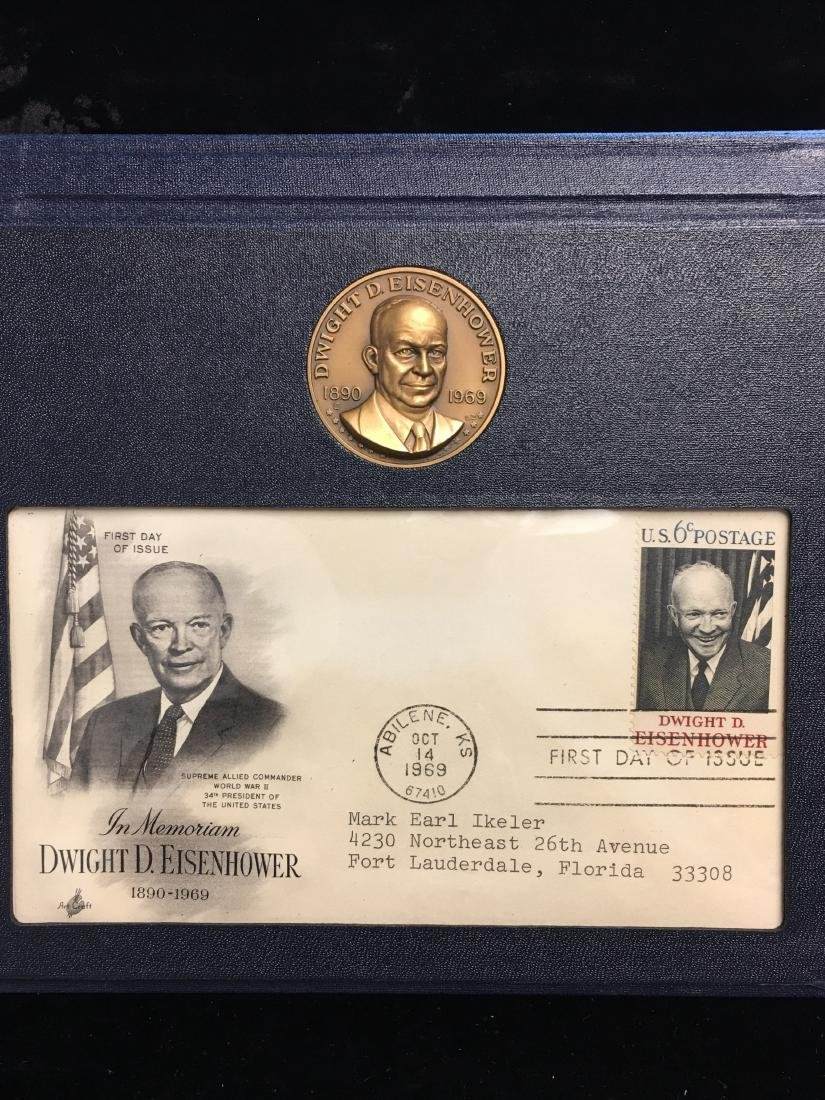 1890-1969 Dwight D. Eisenhower Commemorative Set
