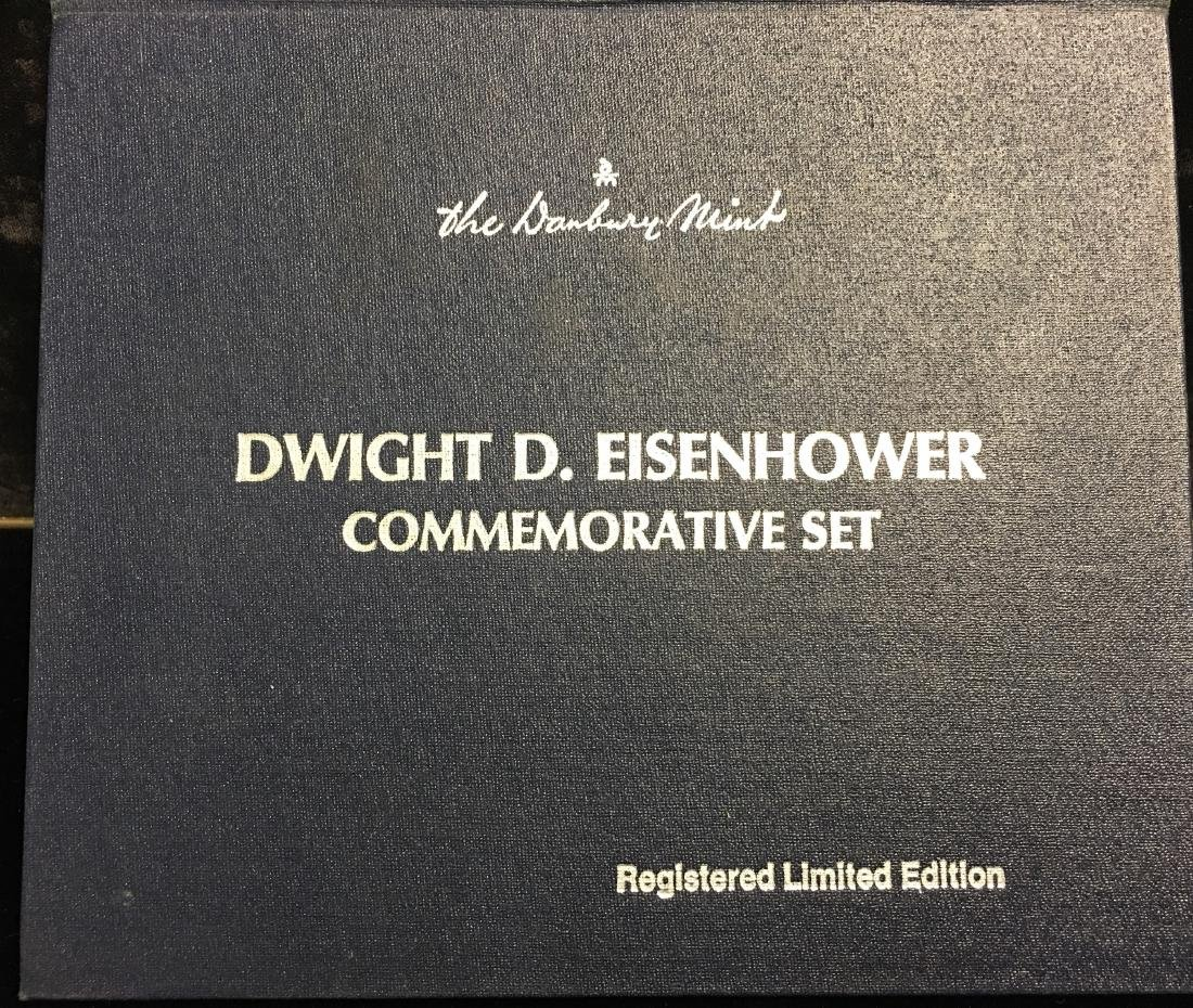 1890-1969 Dwight D. Eisenhower Commemorative Set - 2