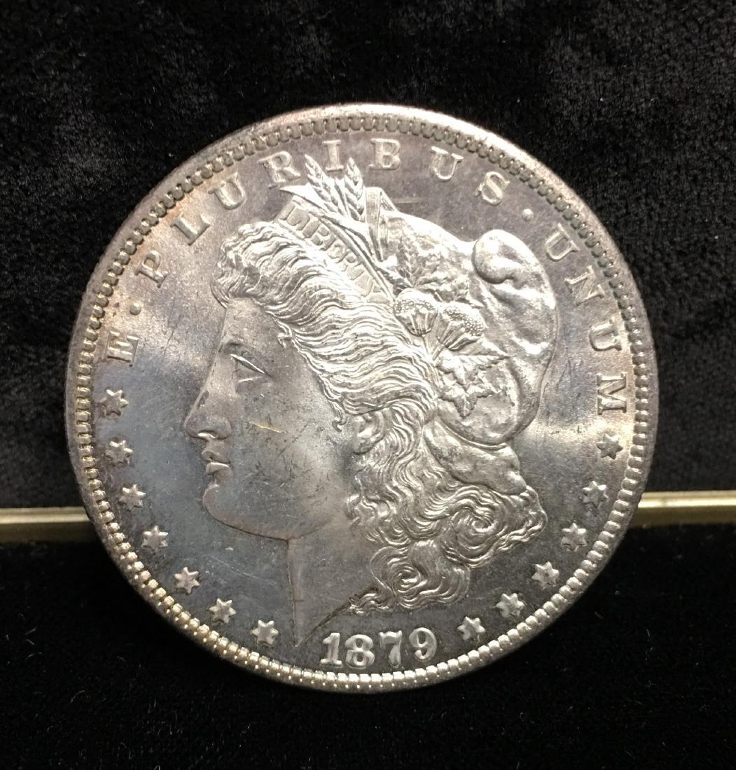 1879-S $1 Morgan Silver Dollar MS65 Raw
