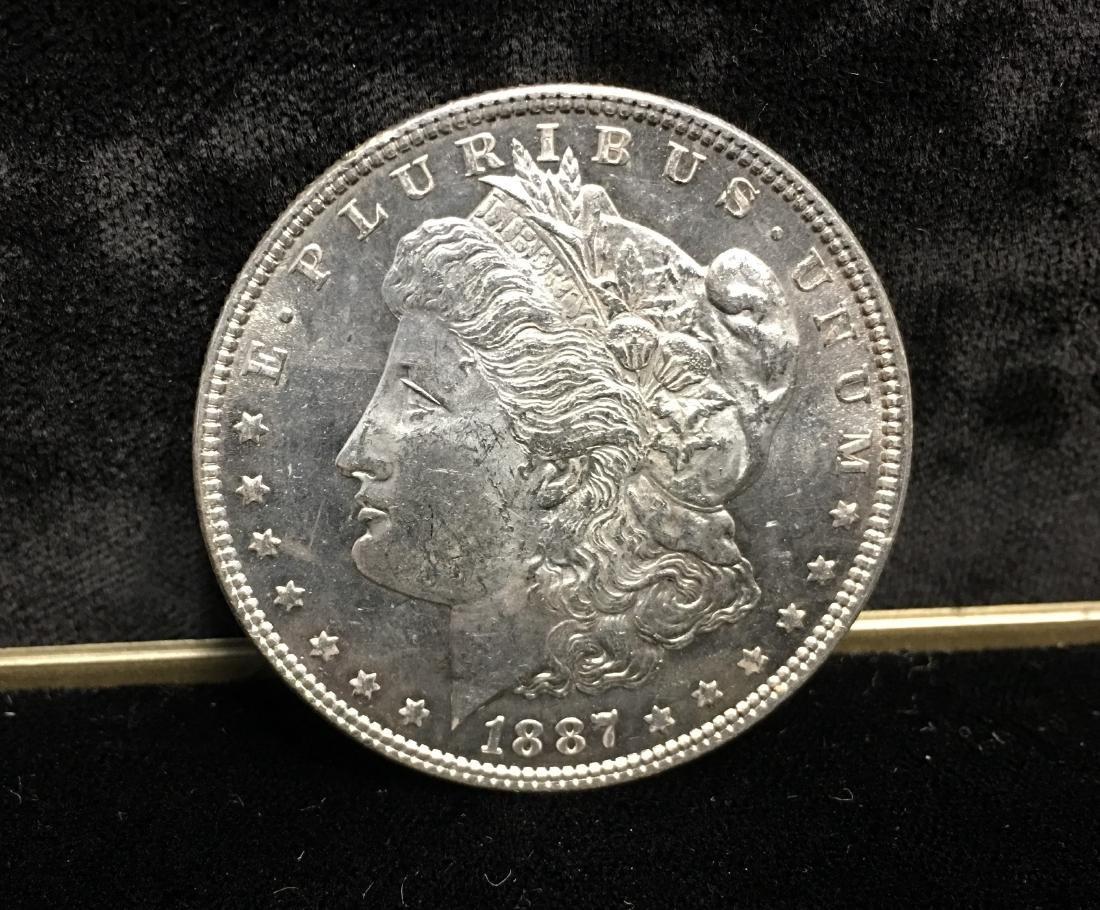 1887-P $1 Morgan Silver Dollar Proof Like