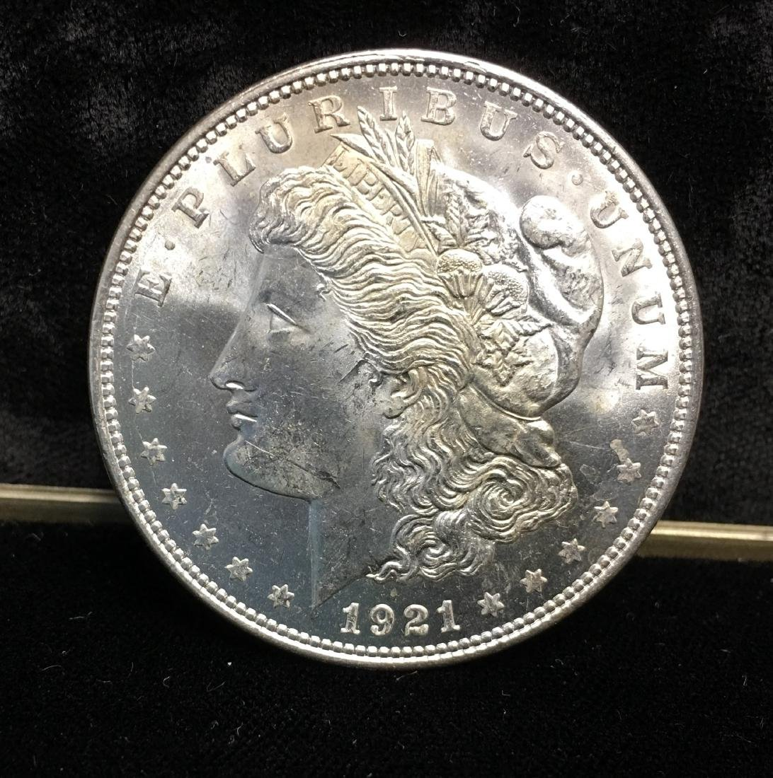 1921-D $1 Morgan Silver Dollar