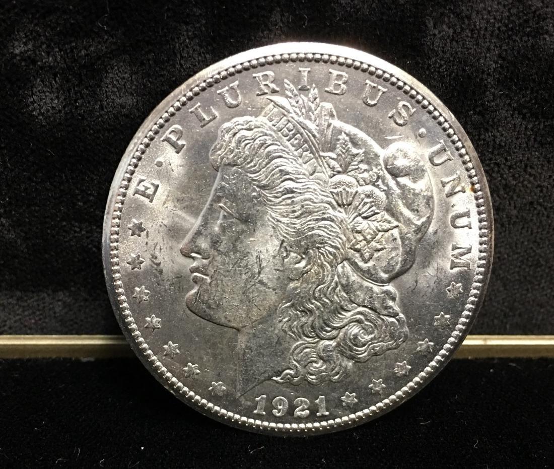 1921-S $1 Morgan Silver Dollar