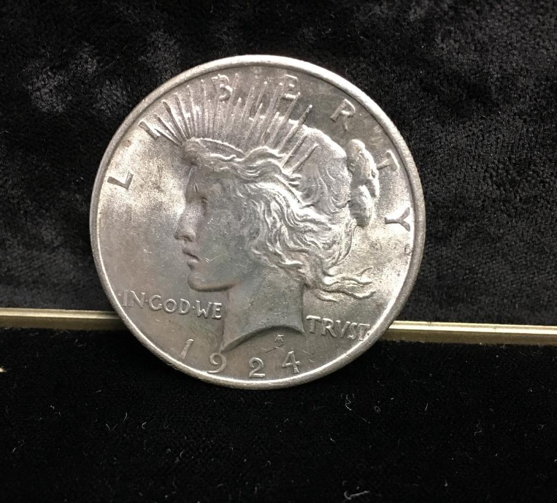 1924-P $1 Peace Dollar