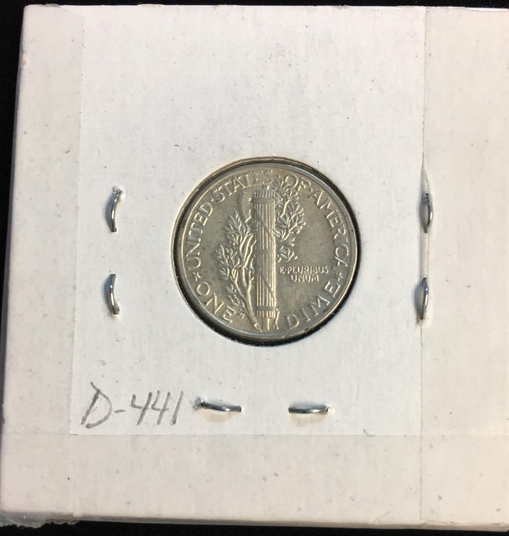 1945-P 10C Mercury Dime AU - 2