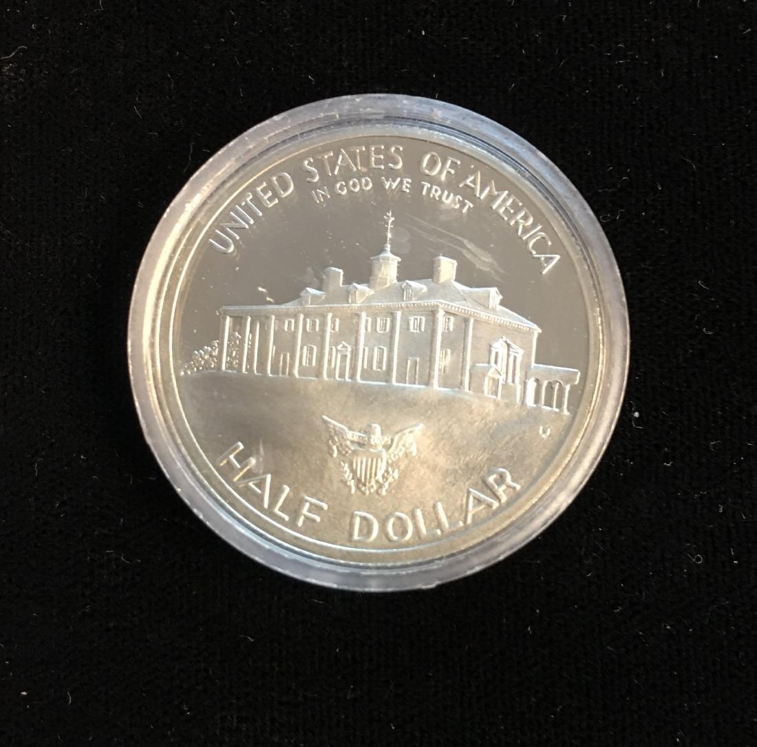 1982-S 50C G.Washington Modern Commemorative Silver - 2