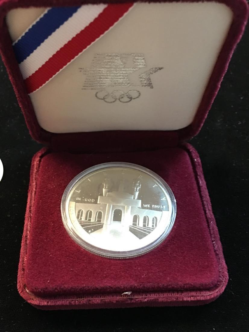 1984-S $1 Los Angeles XXIII Olympiad Silver