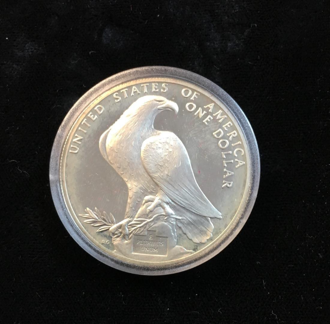 1984-S $1 Los Angeles XXIII Olympiad Silver - 3