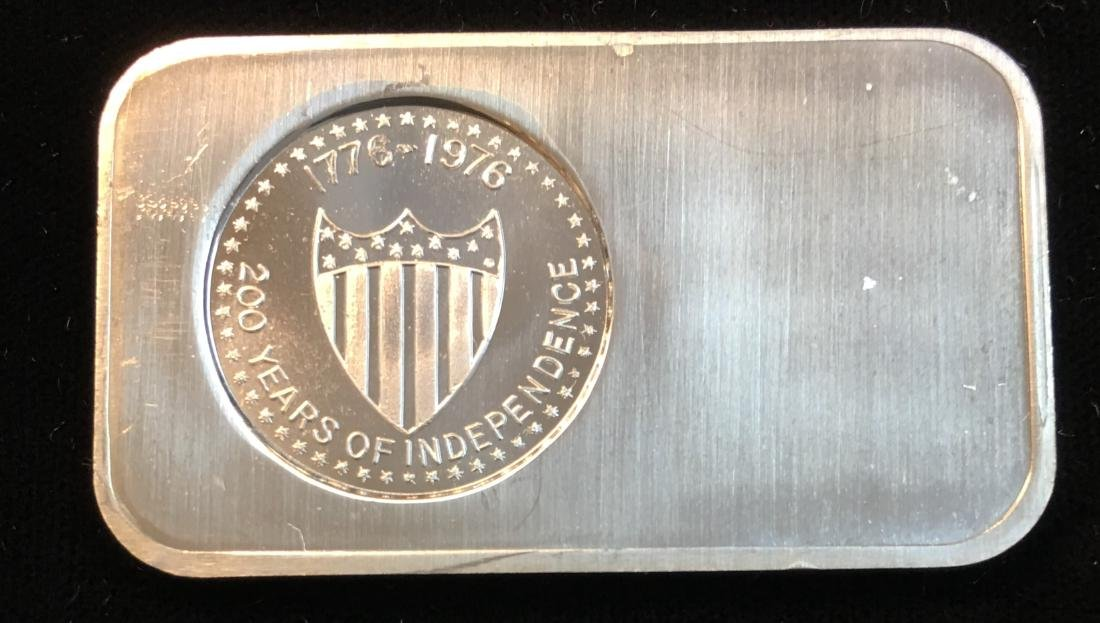 200 Years of Independence 1776-1976 1 oz Pure Silver - 2
