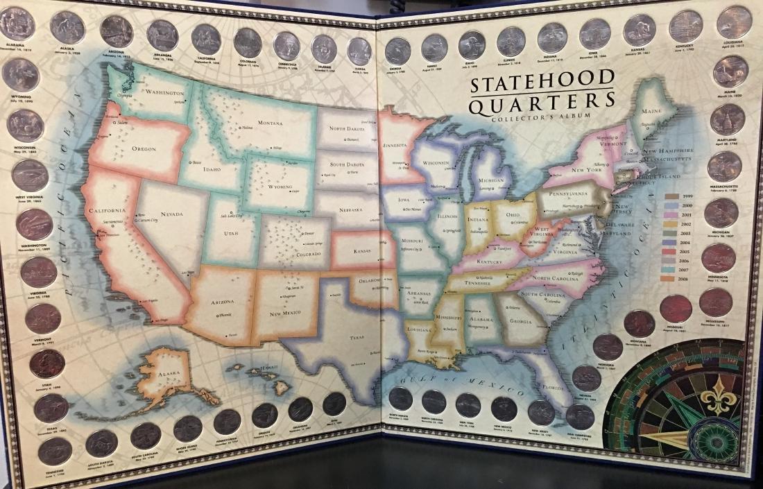 U.S. Statehood Quarters Collectors Album